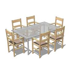 free dining table near me table and chairs 3d model formfonts 3d models textures