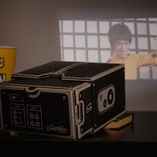 cardboard smartphone projector the green head