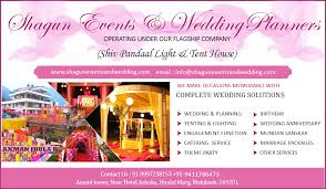 Wedding Planning Companies Event Management Companies In Dehradun Shagun Events And Wedding