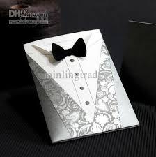 groom to wedding card groom design wedding invitation cards wedding favors ym13002