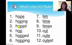 v cv vcv rule lesson 4