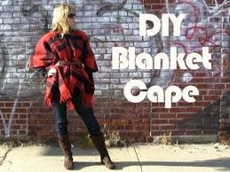 diy blanket diy blanket cape youtube