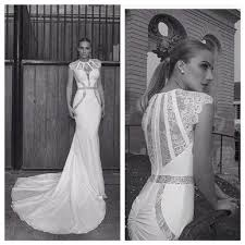 vintage fishtail wedding dress eiffelbride with sheer lace