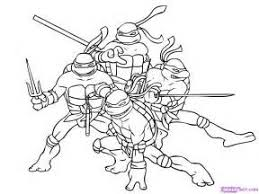 teenage mutant ninja turtles coloring pages bell rehwoldt