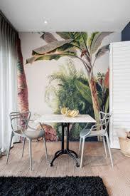 papier peint pour salon salle a manger papier peint tropical pour réveiller l u0027espace de vie découvrez