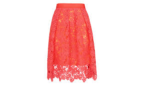 lace skirt meadow lace skirt pink whistles