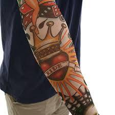 fake tattoo sleeves for halloween costume pin up casino