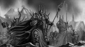 wallpaper black metal hd warhammer 40000 black and white art 4k hd desktop wallpaper for