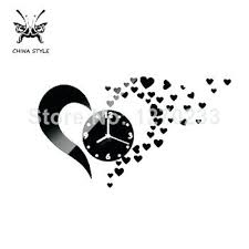 designer kitchen clocks designer kitchen clocks get quotations a hot lovely hearts clocks
