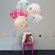 bedroom inspiring decorating ideas with paper lanterns for
