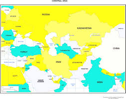 Map If Asia by Maps Of Asia Throughout Map Central Asia Countries Evenakliyat Biz
