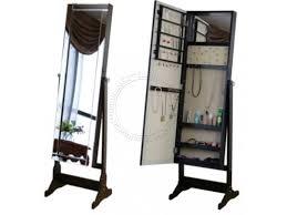 standing mirror jewelry cabinet mirror jewelry cabinet 01