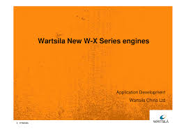 wartsila new x series engines documents