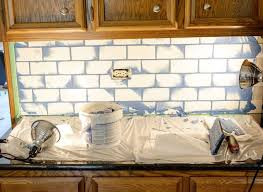Grouting Kitchen Backsplash Subway Tile With Grout Backsplash Hometalk
