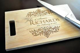 cutting board with recipe engraved engraved cutting board engraved cutting board wedding gift