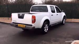 white nissan truck nissan navara dci acenta 4x4 shr dcb white 2014 youtube