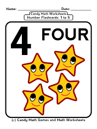 Mathematics Worksheets 5 Free Math Worksheets And Counting Flashcards For