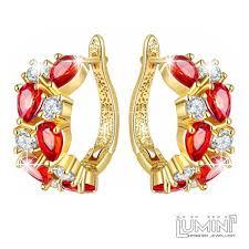 golden earrings lumini brilliant highlights golden earrings vines