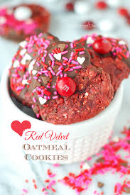 check out red velvet oatmeal cookies it u0027s so easy to make red
