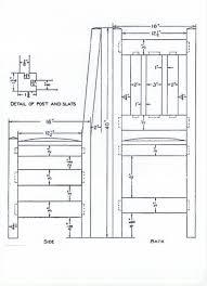 Dining Chair Plans Mission Style Dining Chair Plans How To Build Plans