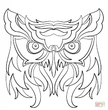parrot coloring pages abstract parrot coloring page free printable coloring pages
