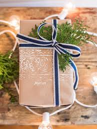 50 christmas gift wrapping ideas hgtv