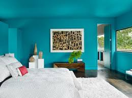 bedroom wooden bed floor lamp turquoise bedroom interior wooden