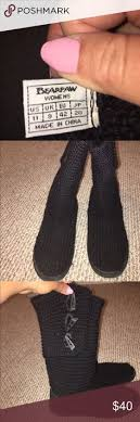 womens paw boots size 11 black paw and black boots bundle ugg shoes shoes and