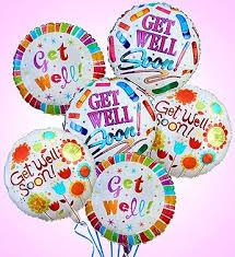 get well soon balloons delivery get well soon balloon bouquet flower delivery in katy