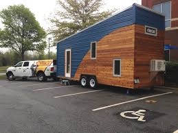 tiny house tour custom tiny house goes on 20 city tour to talk home improvement