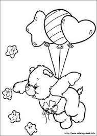 care bears wonderheart coloring printable care bears