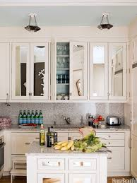 mirror backsplash in kitchen modern kitchen decoration using black glass onyx granite kitchen