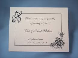Invitation For Marriage How To Respond To A Wedding Invitation Themesflip Com