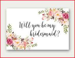 in bridesmaid card beautiful will you be my bridesmaid cards printable pics of
