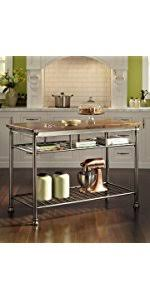 orleans kitchen island amazon com home styles 5060 94 orleans kitchen island with quartz