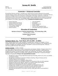 Cfo Resume Template Sample Financial Controller Resume Executive Cfo Resume Cover