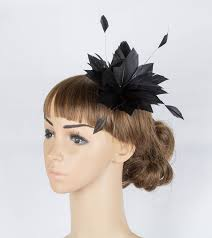 small fascinators for hair aliexpress buy 100 feather material made women headwear