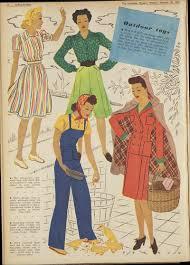 vintage 1942 daywear fashion 1 fashion pinterest vintage
