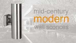 contemporary outdoor wall sconces