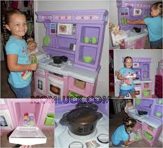 Step Two Play Kitchen by A Little Girls Dream Toy The Step2 Little Baker U0027s Kitchen Mom Luck