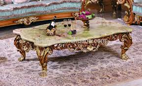 victorian coffee table set luxury victorian wood carving coffee table with marble top classic