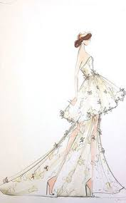 valentino fashion sketch art illustration and other