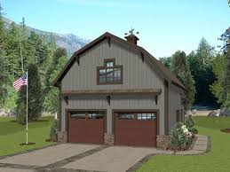 barn style garage with apartment plans carriage house plans barn style carriage house plan with 2 car