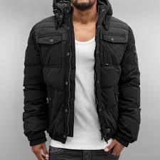 winter biker jacket khujo jacket winter lingu in black men 2714jk200 159 32