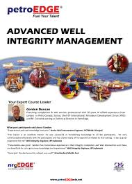 pe980 advanced well integrity management