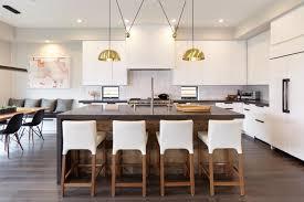 cuisine contemporaine blanche design interieur modele cuisine contemporaine blanche bois recup