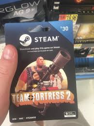 gift cards for steam my local walmart still sells tf2 steam gift cards gaming