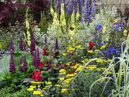 perennial garden ideas plain decoration garden ideas picture