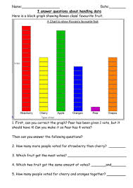 ks1 y2 handling data mini test by robburnett teaching