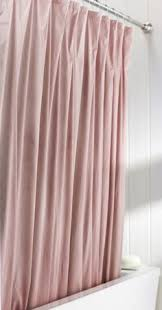Magnetic Shower Curtain Liner Metaphor Fabric Shower Curtain Blush Pink Products